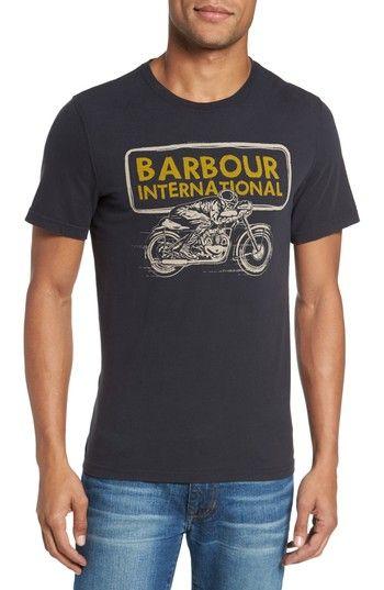 BARBOUR INTERNATIONAL PACE T-SHIRT. #barbour #cloth #