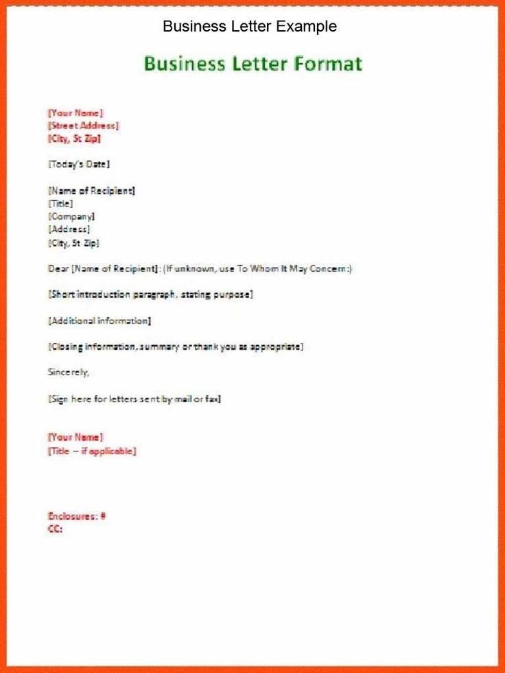 business letter format spacing template learnhowtoloseweight - introduction letter format