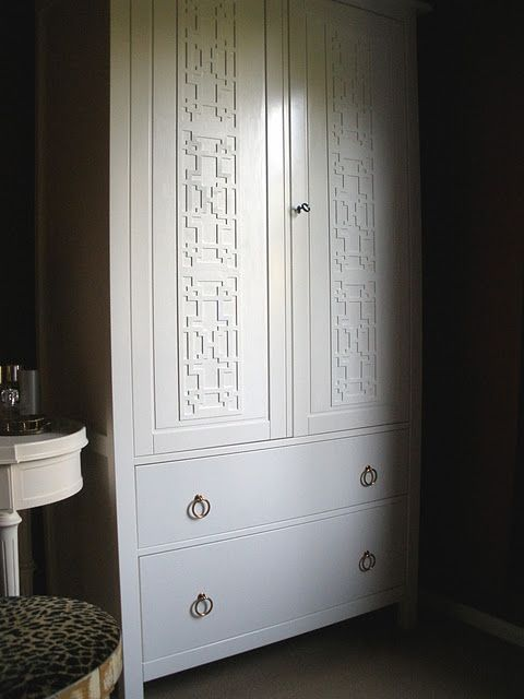 Ikea Hemnes Wardrobe hack. Love!