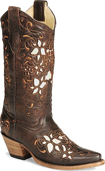 I want a real pair of cowgirl boots next spring!