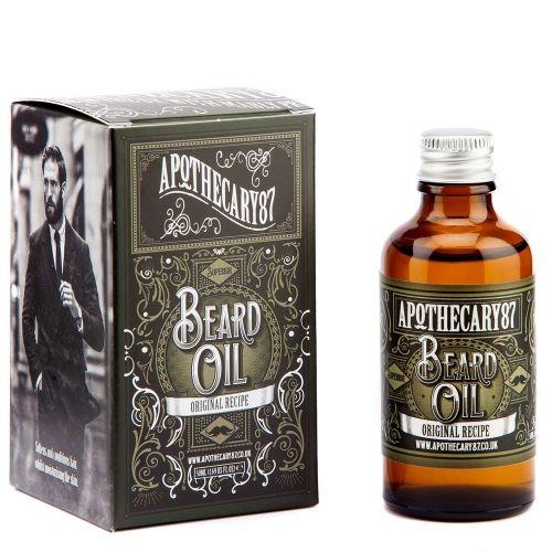 Olejek do brody Original Apothecary 87 #beard #beardcare #BeardManPL