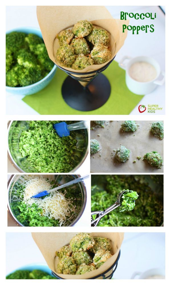 Broccoli Poppers Recipe - If your kids don't love broccoli yet, you'll be shocked at how irresistible they find these! http://www.superhealthykids.com/broccoli-poppers/