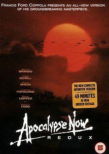 APOCALYPSE NOW (1979) By Francis Ford Coppola. Starring Marlon Brando, Robert De Niro, Martin Sheen, Robert Duvall