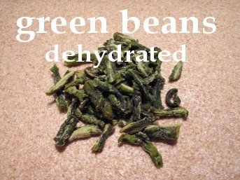 Dehydrated Green Beans! More info. at easy-food-dehydrating.com