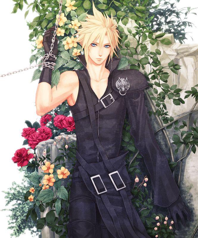 Garden of Memories by Yui…- Final Fantasy VII - Cloud Strife -  http://www.pixiv.net/member.php?id=597298