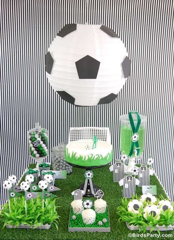 Soccer/Football/Fútbol Birthday Party Ideas | Photo 5 of 16 | Catch My Party
