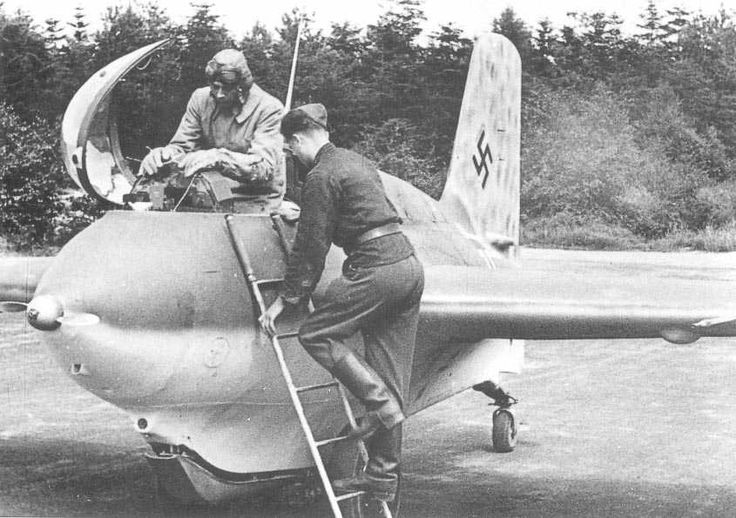 Me163-B1 Komet. Just don't get dissolved by the rocket fuel.