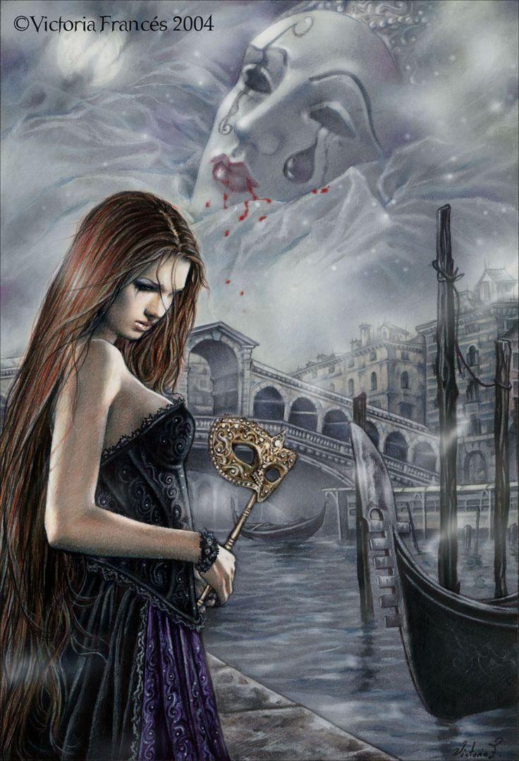 El hada de Venecia, Victoria Frances.
