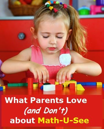 What Parents Love (or Don't) about Math-U-See #homeschool