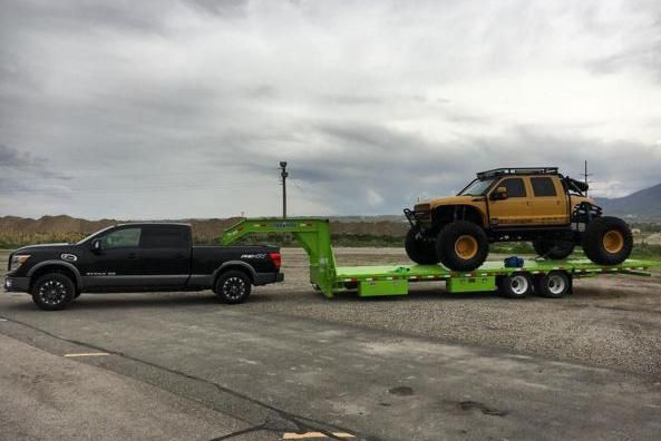 Titan XD Towing 19,000 lbs
