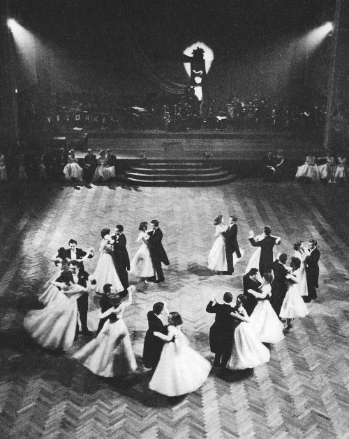 All That Jazz - Prague Nightlife: Ball in Municipal Hall, 1950's