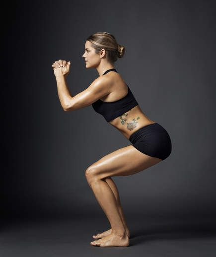 How to Master the Perfect Squat | An illustrated guide to the perfect squat.