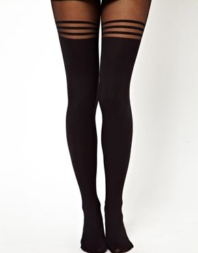 ASOS+40+Denier+Tights+With+3+Hoop+Over+The+Knee+Design 15.16