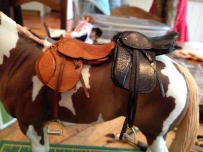 Braymere Custom Saddlery: Saddles with Sophie, part one (how to make your own saddle)