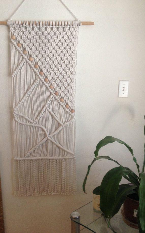 Macrame Wall Hanging Macrame Home Decor от BiziKnitting4You, $85.00