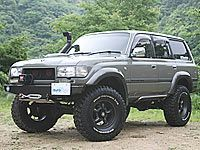 ■LAND CRUISER 80(2):::デモカーのご紹介///KOBE 4WD HOUSE MOTORAGE online