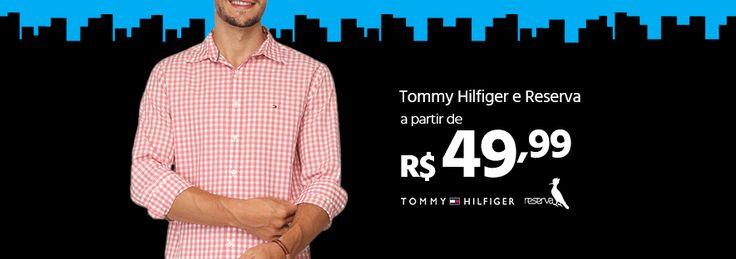 Seleção de Camisas, Camisetas, Bermudas e mais das marcas Tommy e Reserva. Moda Masculina.