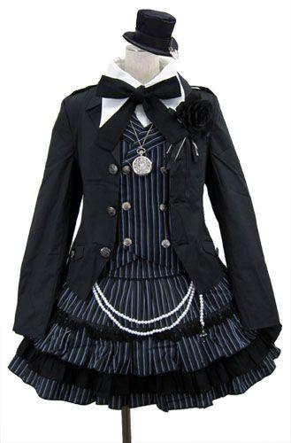 Elegant Kodona-Style Lolita - Reminds me of Kuroshitsuji!