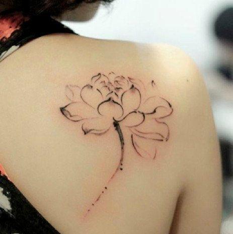 tatouage fleur aquarelle - Recherche Google