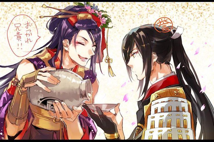 兄貴が初誉とったお祝いする兄弟かわいいと思うので #刀剣乱舞