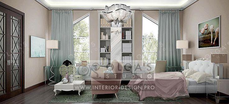 Art Deco Child's Room Design http://interior-design.pro/en/blog/art-deco-childs-room-design.php