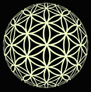 Flower of Life. Sello balon