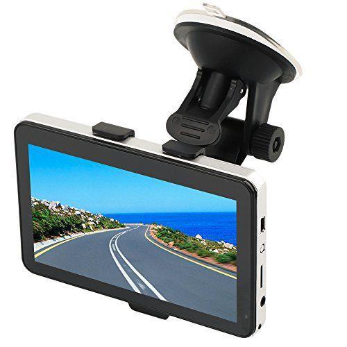 Crewpros(TM) GPS pour camion 12,7cm avec mise à jour des cartes, 8Go: Caractéristiques: Avec 8Go de mémoire interne Ce GPS Navigator…
