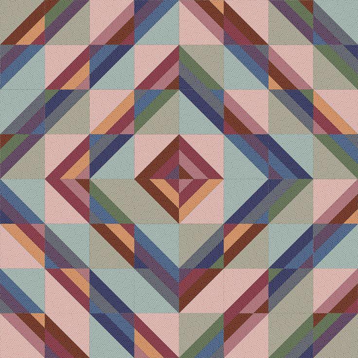 Hadleigh Roman Stripe Quilt idea 10