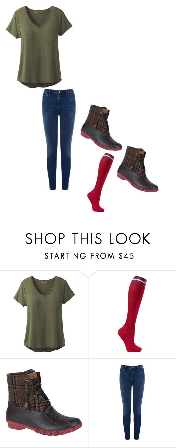 """""""Untitled #421"""" by austynh on Polyvore featuring prAna, Maria La Rosa, Sperry and Warehouse"""