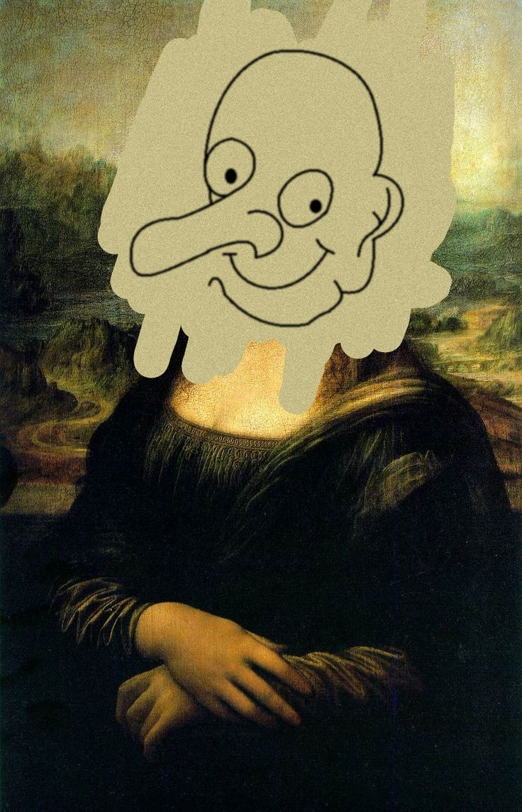 Equestria Girls Wallpaper This Is The Mona Lisa Mr Bean Painted When He Went On A
