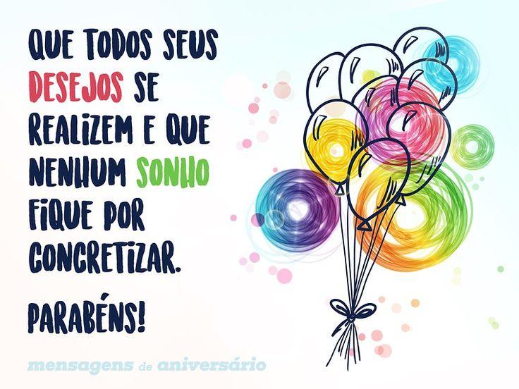 Que todos seus desejos se realizem e que nenhum sonho fique por concretizar. Parabéns! (...) https://www.mensagemaniversario.com.br/todos-os-sonhos-e-desejos/