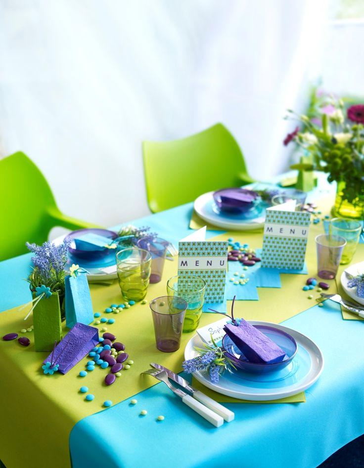 Communie 2013 zelf een communiefeest organiseren bij je thuis dana pinterest party time - Blauwe turquoise decoratie ...