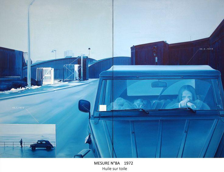 Jacques MONORY - 14 Déc 2014 au 17 mai 2015 - Aux Capucins / Landerneau /// Inspirations : Les Mesures voient certains éléments récurrents de nouveau mis en scène et en séquences: la mer, les oiseaux, les voitures, les paysages inhabités, ...