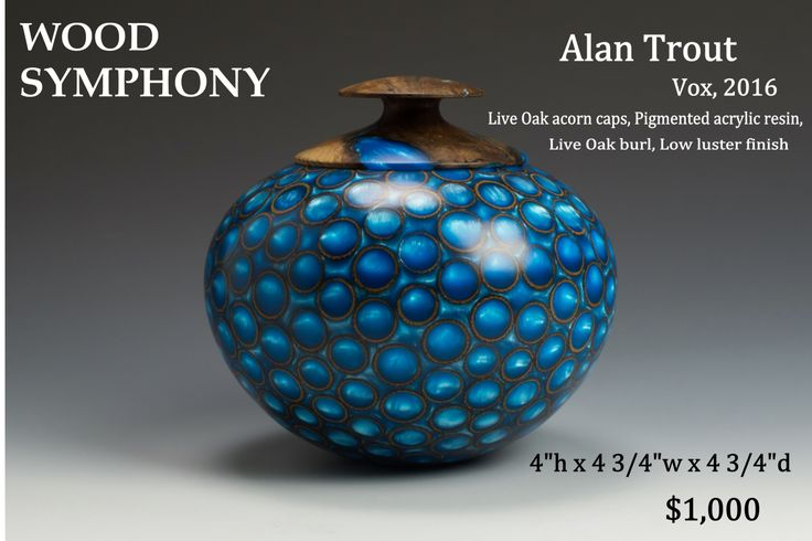 Alan Trout - Wood turning Artist