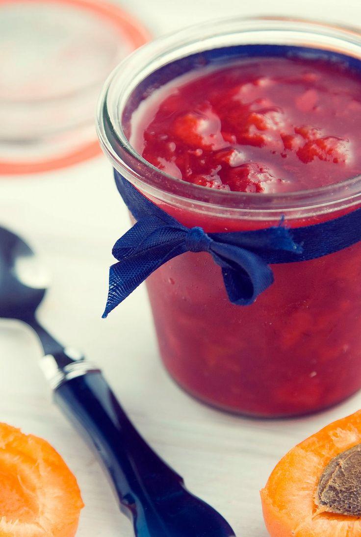 Dżem wiśniowo-morelowy | Kornik w kuchni