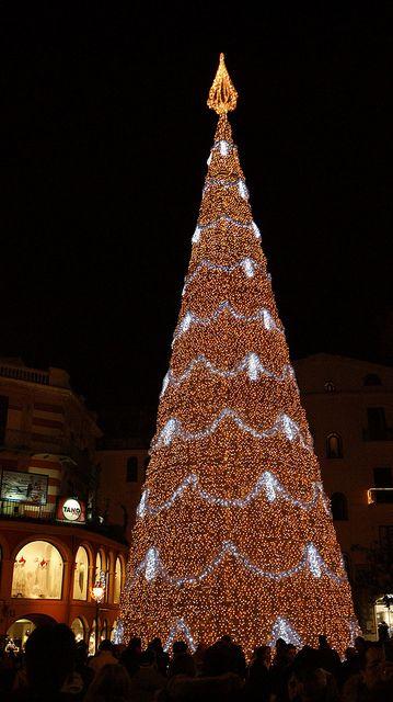 Luci di Natale a Salerno   Italy