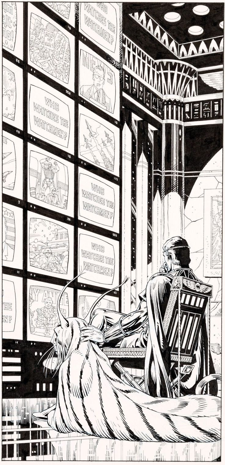 Ozymandias by Dave Gibbons