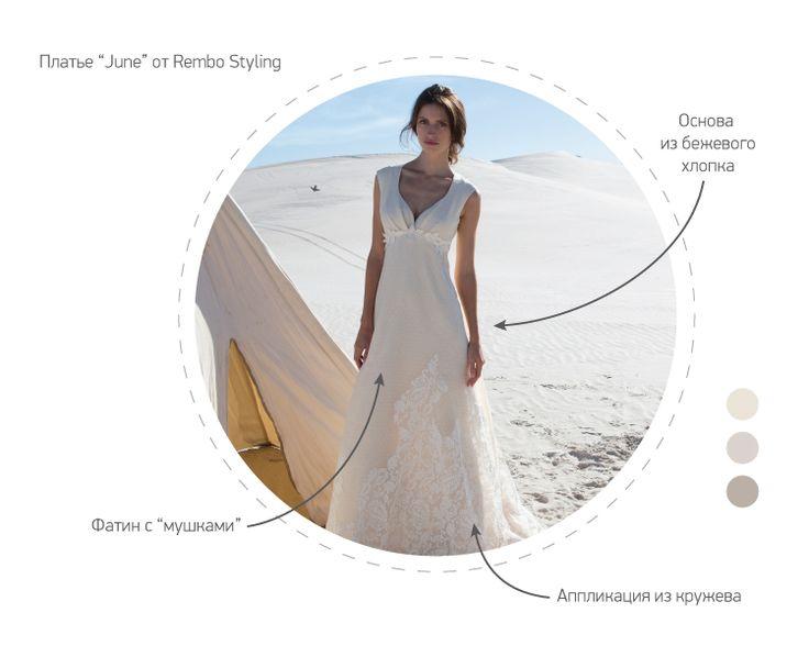 Свадебные платья 2015 - Цветные свадебные платья // Тренды в свадебных платьях 2015 // Статья в нашем блоге