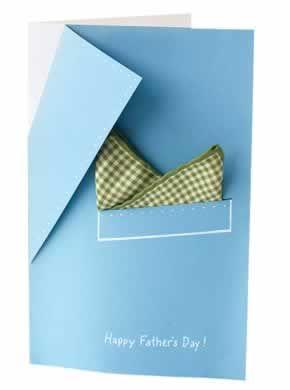 Father's Day card idea.