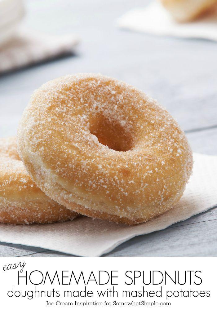 Homemade Spudnut Recipe