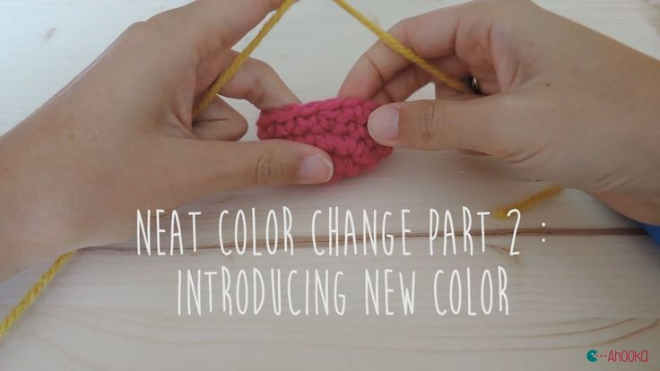 [EN] This video will show you how to make an invisible color change when crocheting in spiral. That will help especially when making stripes ! --------------...
