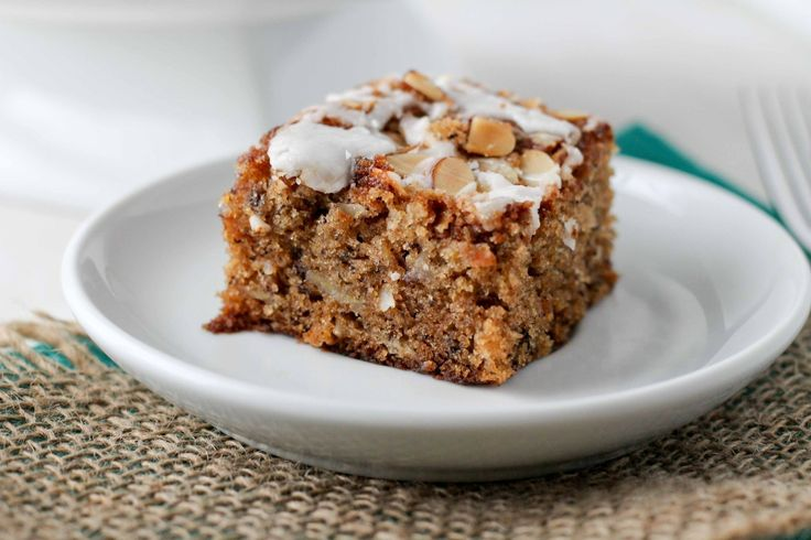 Banana Coconut Cake With Almond Struesel Crunch - Laura made this on 5 ...