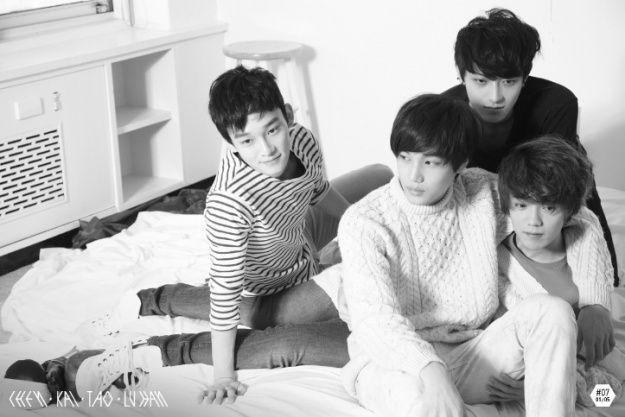 Kai, Lu Han, Tao, and Chen Release EXO's First Group Photos | Soompi
