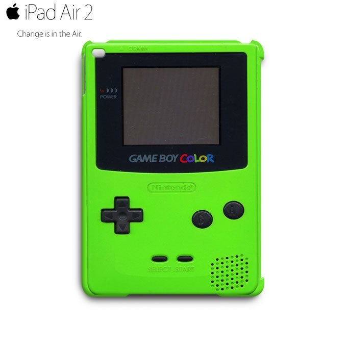 Game Boy Color Green iPad Air 2 Case Cover Wrap Around