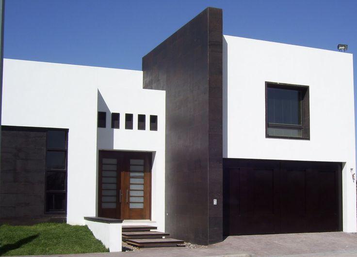 Fachadas de casas minimalistas de dos plantas for Fachadas para casas pequenas de dos pisos