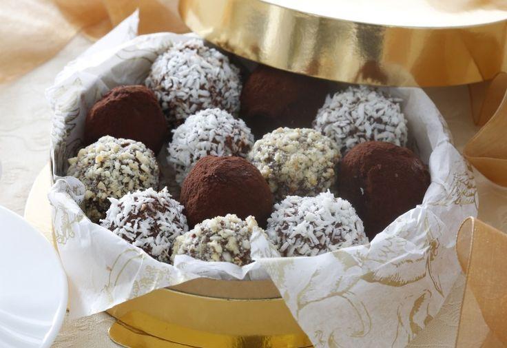 Шоколадные трюфели / Простые рецепты