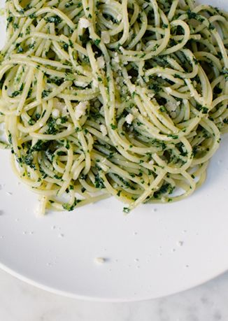 Kale Recipes: Kale Pesto Pasta OR African-Style Stewed Kale