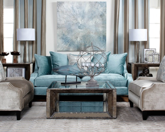 Best Aqua And Grey For The Living Room Like For The Home 400 x 300