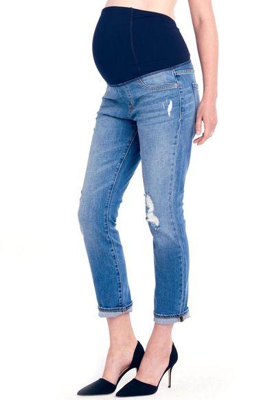 Ingrid & Isabel® 'Mia' Maternity Boyfriend Jeans, Nordstrom | $118