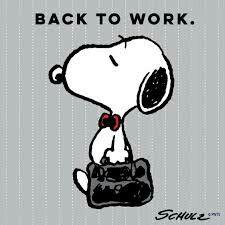 Dutiful, responsible Snoopy.